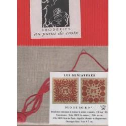 DUO DE SOIE n°1 (kit)
