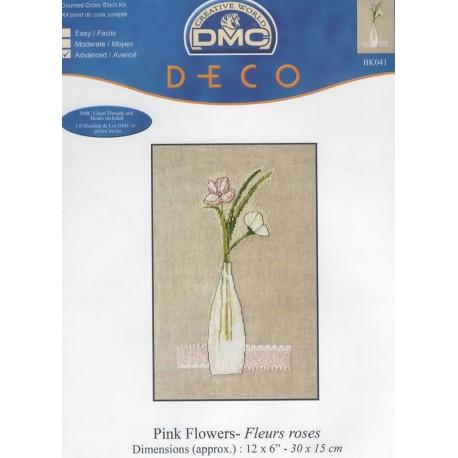 Fleurs Roses (kit)