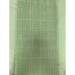 Toile Zweigart Trentino Vert fines rayures orange & crème (coloris 6249) 11.2 fils/cm