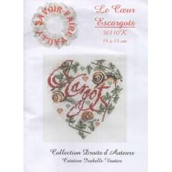 Coeur Escargots (kit)