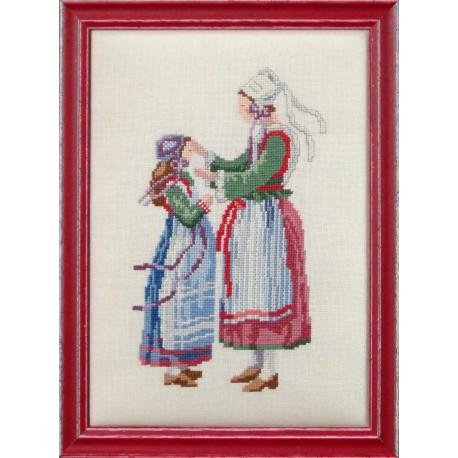 Mère et enfant bretons (Fiche)