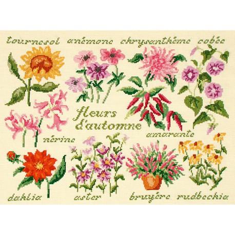 Fleurs d'automne (Kit)