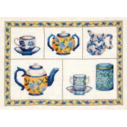 Thé bleu (Kit)