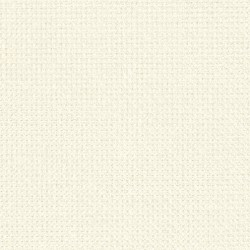 Toile Zweigart Fein-Aïda Ivoire (coloris 100) 7,0 pts