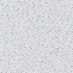 Toile Zweigart Fein-Aïda Blanc Argent (coloris 17) 7 pts