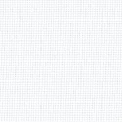Toile Zweigart Lugana Blanc (coloris 100) 10 fils/cm