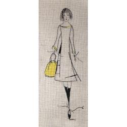 Petite Nana au sac jaune (Fiche)