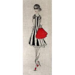 Petite Nana au sac rouge (Fiche)