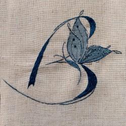 Lettre Papillon B (Fiche)