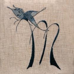 Lettre Papillon M (Fiche)