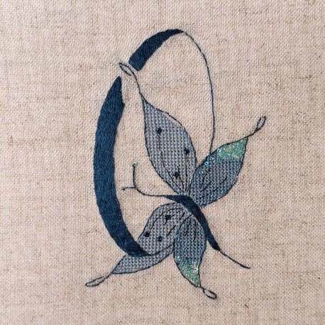 Lettre Papillon Q (Fiche)