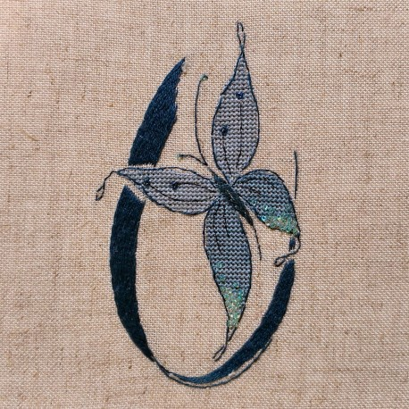 Lettre Papillon U (Fiche)