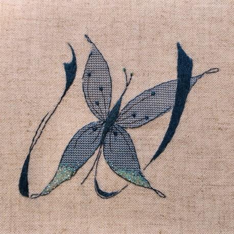 Lettre Papillon W (Fiche)