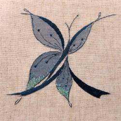 Lettre Papillon X (Fiche)