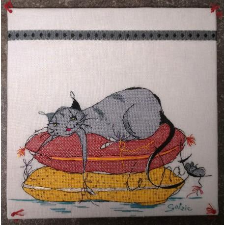 Le chat dort (fiche)