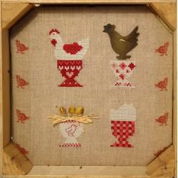 Une bande de poules (Kit)