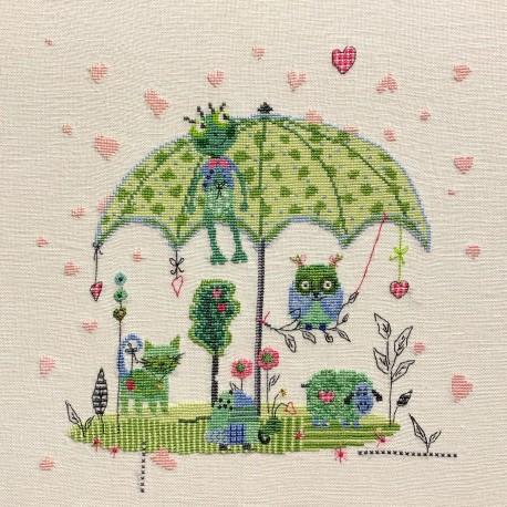 Sous une pluie de coeurs (fiche)