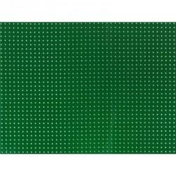 Vinyle Laqué Perforé - Vert Emeraude