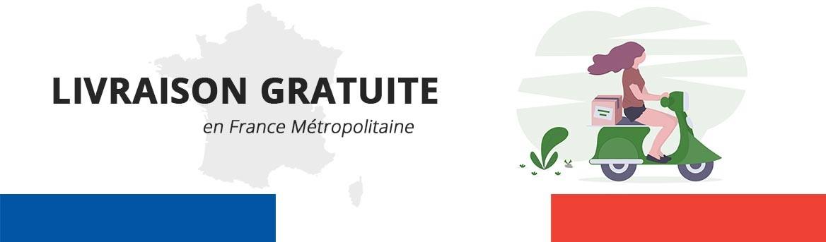 Livraison Offert en France Métropolitaine